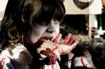 child hungry zombie