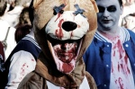 teddy bear zombie