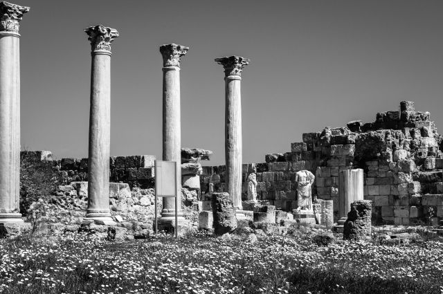 Roman gymnasium at Ancient Salamis, Cyprus